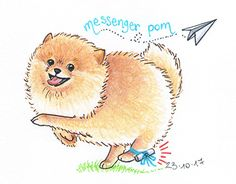 "Check out new work on my @Behance portfolio: ""Messenger pom"" http://be.net/gallery/58090511/Messenger-pom"