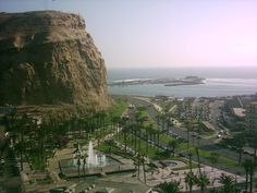 Morro de Arica, Arica, CHILE. This is not Bolivia, however i want to visit Arica Chile while close by in bolivia!