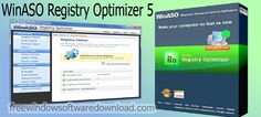 Winaso Registry Optimizer is useful software with friendly interface and you can download it from Free Window Software Download. Windows Registry, Windows Software, Inkjet Printer, Digital Photography, Make It Yourself, Free