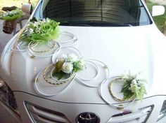 simple car decoration for wedding