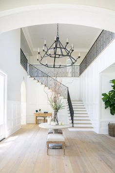 Home Decoration Ideas Interior Design .Home Decoration Ideas Interior Design Home Decor Styles, Home Decor Accessories, Cheap Home Decor, Foyer Decorating, Decorating Ideas, Decor Ideas, White Rooms, Staircase Design, Foyer Design