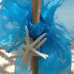 Starfish pairing Wedding Set Up, Perfect Wedding, Starfish, Weddings, Outdoor Decor, Home Decor, Decoration Home, Room Decor, Wedding