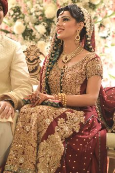 pakistani bridal wear - beautiful!!