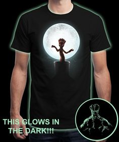 """""""We Are Groot"""" is today's £8/€10/$12 tee for 24 hours only on www.Qwertee.com Pin this for a chance to win a FREE TEE this weekend. Follow us on pinterest.com/qwertee for a second! Thanks:)"""