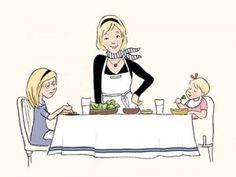 To je takođe razlog zašto francuske bebe sede zadovoljno u restoranu. Umesto da grickaju nešto po ceo dan kao američka deca, one uglavnom moraju da čekaju do obroka da bi jele. (Francuska deca dosledno imaju tri obroka na dan i jednu užinu oko 4 popodne.)