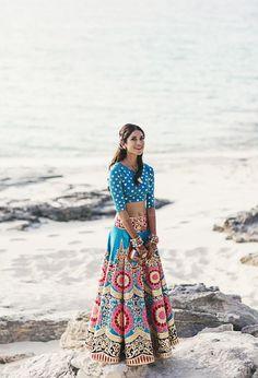 Melanie Kannokada Chandra Manish Arora lehenga designer