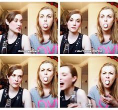Rose and Rosie Funny Shit, Funny Stuff, Hilarious, Rose And Rosie, Celebrity Crush, Youtubers, Lgbt, Lesbian, Inspire
