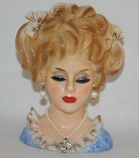 Vintage Inarco Beauty Head Vase - Scarce