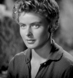 Hair And Beauty Work Experience Ingrid Bergman, Swedish Actresses, Hollywood Actresses, Actors & Actresses, Vintage Hollywood, In Hollywood, Classic Hollywood, Isabella Rossellini, Cut Her Hair