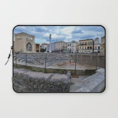 Roman amphitheater in the south italy Laptop Sleeve