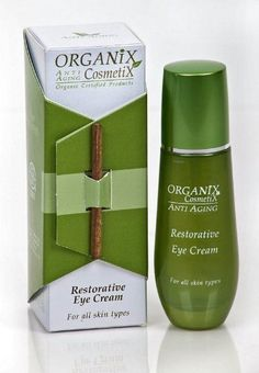 Organix Cosmetix Restorative Eye Cream - 1.0 fl. oz. by Organix Cosmetix. $25.81. It contains Survicode, which protects epidermal stem cells to minimize signs of aging and reduce medium and deep wrinkles.. 1.0 fl. oz. - 30 ml. This Eye cream was developed to treat the delicate skin susceptible to these wrinkles.. Organix Cosmetix Restorative Eye Cream  - 1.0 fl. oz.. In addition, it contains Gatuline Expression, a natural ingredient to treat skin wrinkles rapidly.....