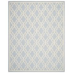Safavieh CAM131A Cambridge Area Rug, Light Blue / Ivory | Lowe's Canada