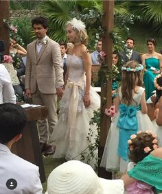 Casamento Kiara Sasso com Vestido de Noiva Geraldo Couto