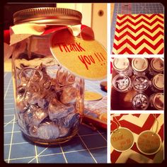 Easy Gift to make for coworkers for all there hard work!  A Sweet Treat!