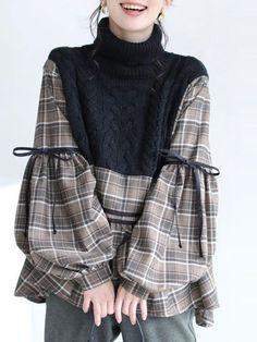Muslim Fashion, Hijab Fashion, Korean Fashion, Fashion Dresses, Fashion Sewing, Diy Fashion, Womens Fashion, Mode Outfits, Casual Outfits