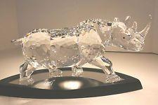 Swarovski Crystal - The Rhinoceros in Original Case - Limited Edition 2008 - $1,867.63