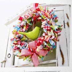DIY - Rag Wreaths