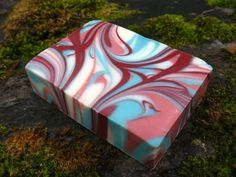 Raspberry Clover hand-crafted soap by Tree Frog Soaps