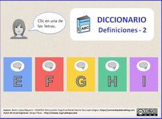 Léxico. Comprensión. Vocabulario. Definiciones.