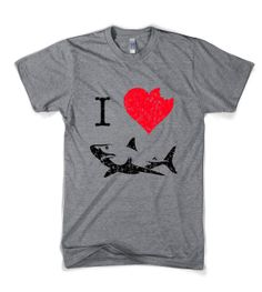 Hey, I found this really awesome Etsy listing at http://www.etsy.com/listing/151389996/i-love-sharks-t-shirt-funny-shark-bite