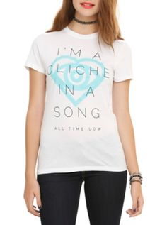 All Time Low I'm A Cliche Girls T-Shirt