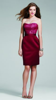 Alfred Angelo Bridesmaid Style 7245