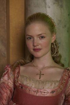 Holiday Granger as Lucrezia Borgia