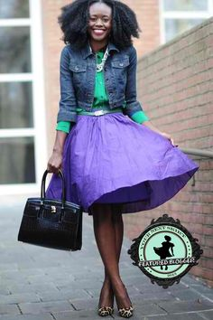 How to Wear Puffy Skirts without Looking Like a Little Girl!