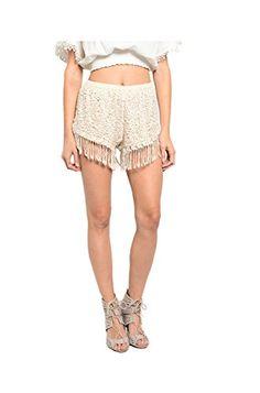 2LUV Women's Dressy Chic Crochet Lace Shorts Cream-Fringe S (S615) 2LUV http://www.amazon.com/dp/B00WNKCNI2/ref=cm_sw_r_pi_dp_CoiJvb0CTQE8H