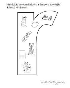 Játékos tanulás és kreativitás: Kisbetűkben képek a hangfelismerés gyakorlásához Dysgraphia, Letters, Teaching, School, Facebook, Heart, Sweet, Books, Activities