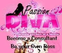 I am looking for new consultants all over the United States and Canada. If you love to party and get paid for it then give me a call. Join my team and quit that 9-5 boring job.   Independent Passion Party Consultant  Belinda Morgan  903-335-3657  bsmorgan712gmail.com  https://www.facebook.com/pages/Passion-Parties-by-Belinda/158724587541554
