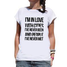 eu.Fab.com | I'm In Love T-shirt Women's