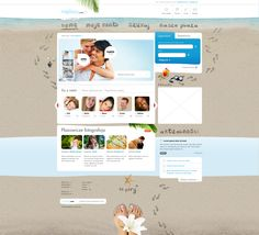 beachy web design - #web #design