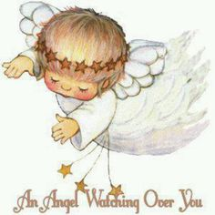 .AN ANGEL WATCHING OVER YOU
