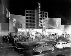 Vintage photo The Palladium, Los Angeles, Hollywood, California. California History, Vintage California, California Dreamin', Hollywood California, Vintage Hollywood, Classic Hollywood, Hollywood Style, West Hollywood, Hollywood Glamour