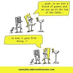 Canary Fan Season 6 Cartoon #10