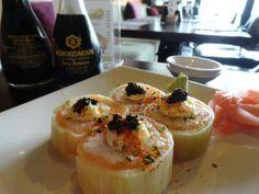 Rock Sushi Thai Sushi, Panna Cotta, Pudding, Rock, Ethnic Recipes, Desserts, Tailgate Desserts, Stone, Deserts