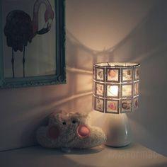 Babylampe als Geburtsgeschenk #babyfotos #kinderzimmer