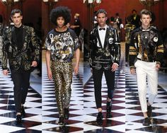 @DolceGabbana  #mensfashion  Spring/Summer '17 inspired by eighties music and glamorous styles. #DGMusica #dgss17  #Milan Look-002