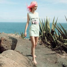 Pink hair  charlottefree