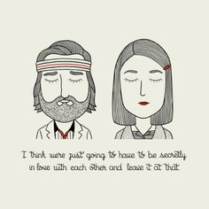 The characters of Wes Anderson, Alejandro Giraldo