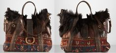 Ralph Lauren - The Large Carpet Shearling Tote