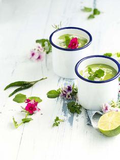 Velouté Avocat & Cresson au lait de coco