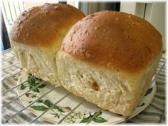 Oatmeal & Raisin Bread