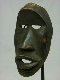 Auctions ends today Beautiful African Mask, Dan,Kran ,Mask,Collectible, African Art,No Reserve!