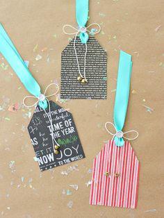 Christmas Bell Tags