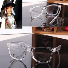 Encontre mais Acessórios Informações sobre moda unissex quadro transparente  estrela t espetáculo lente clara óculos wayfarer 2f5d82e949