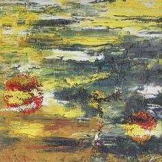 "Marian Lupu LUPINO -Email: mlupubm@yahoo.com -""Lost season""(Anotimp disparut)-oil on canvas(1994)-50x50 cm-2900$"