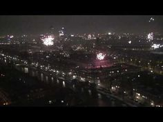 Amsterdam Fireworks New Year Eve 2009/10 - from the 20th floor of the Okura Hotel