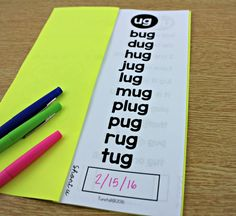 Teaching Word Families Tunstall's Teaching Tidbits is part of Phonics reading - Booklets to help you teach and track sight words, word families, short vowels, long vowels Reading Homework, Phonics Reading, Reading Centers, Teaching Reading, Help Teaching, Literacy Centers, Literacy Stations, Reading Lessons, Math Lessons